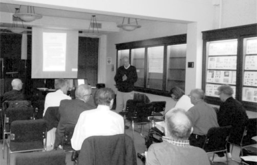 5th Meeting of the CartoPhilatelic Society, October 12, 2012, Collector's Club NYC, USA