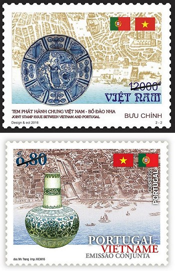 Portugal/Vietnam Joint Issue 2016-07-01