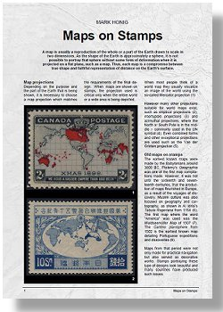 """Maps on Stamps"" an introductory article by Mark Honig"